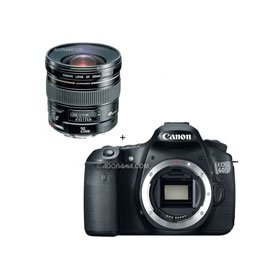 Canon EOS 60D Digital SLR Camera Body, with EF 20mm f/2.8 USM AutoFocus Ultra Wide Angle Lens