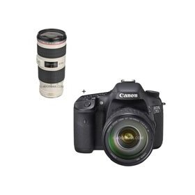 Canon EOS-7D Digital SLR Camera / Lens Kit with EF 28-135mm f/3.5-5.6 IS USM Standard Zoom Lens and EF 70-200mm f/4L IS USM Autofocus Telephoto Zoom Lens,