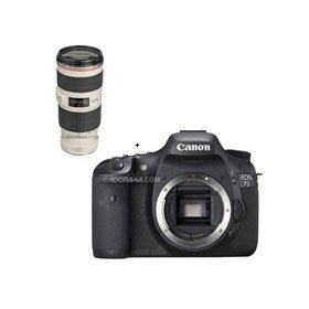 Canon EOS-7D Digital SLR Camera with EF 70-200mm f/4L IS USM