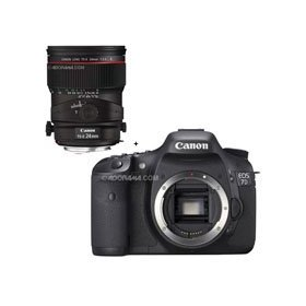 Canon EOS-7D Digital SLR Camera with TS-E 24mm f/3.5L II Tilt-Shift
