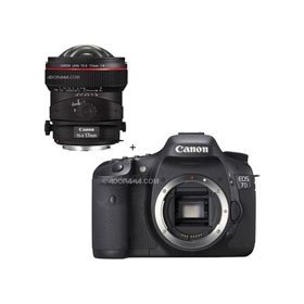 Canon EOS-7D Digital SLR Camera with TS-E 17mm f/4L Tilt-Shift Manual Focusing Lens