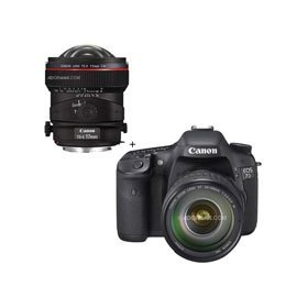 Canon EOS-7D Digital SLR Camera / Lens Kit with EF 28-135mm f/3.5-5.6 IS USM Standard Zoom Lens and Canon TS-E 17mm f/4L Tilt-Shift Manual Focusing Lens