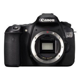 Canon EOS 60D 18 MP Digital SLR Camera + Canon 18-55mm IS Lens + Canon 75-300mm Zoom Lens + 2x Telephoto Lens + 8 GB Memory Card + Camera System Bag + 50