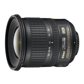 Nikon AF-S DX Zoom-NIKKOR 10-24mm f/3.5-4.5G ED Lens with Hood, Cap, and Case