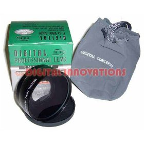 Digital Concepts 0.45x Wide Angle Lens with Macro, fits 58mm Lens Threads