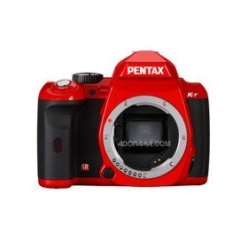 Pentax K-r - Digital camera - SLR - 12.4 Mpix - body only - supported memory: SD, SDHC - red