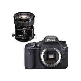 Canon EOS-7D Digital SLR Camera with TS-E 45mm f/2.8 Tilt-Shift