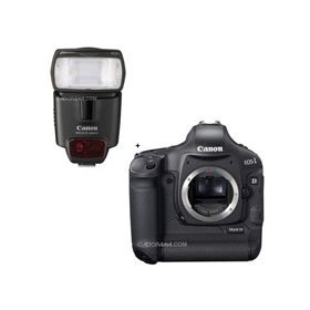 Canon EOS-1D MARK-IV Digital SLR Camera with Speedlite 430EX II