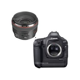 Canon EOS-1D MARK-IV Digital SLR Camera with EF 50mm f/1.2L USM