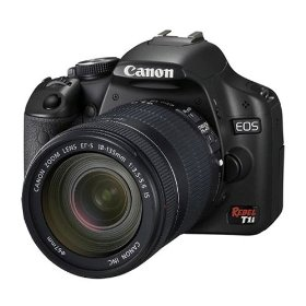 Canon EOS Rebel T1i 15.1 MP CMOS Digital SLR Camera with 3-Inch LCD and EF-S 18-135mm f/3.5-5.6 IS UD Standard Zoom Lens