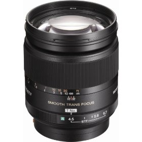Sony SAL-135F28 135mm f/2.8 (T4.5) STF Telephoto Lens for Sony Alpha Digital SLR Camera