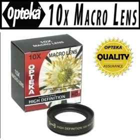 Opteka 10x HD� Professional Macro Lens for Panasonic Lumix DMC-LX5 Digital Camera
