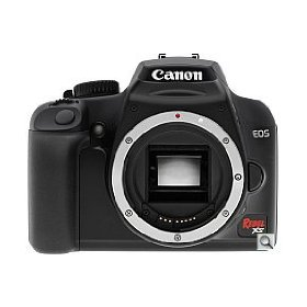 Canon EOS Rebel XS (1000D) SLR Digital Camera Black Body Only