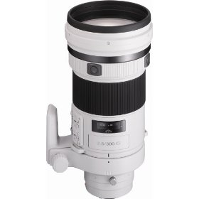 Sony SAL-300F28G G Series 300mm f/2.8 Super Telephoto Lens for Sony Alpha Digital SLR Camera