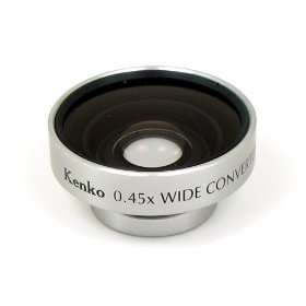 Kenko 0.45x Wide-Angle Conversion Lens with Magnetic Mount for Digital Cameras.