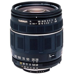 Tamron Autofocus 28-200mm f/3.8-5.6 XR Aspherical (IF) Lens for Pentax SLR Cameras (Black)