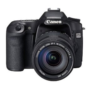 EOS 50D Digital SLR Camera Kit with 18-135mm Lens