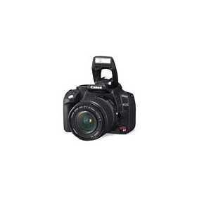 Canon EOS Digital Rebel XT - Digital camera - SLR - 8.0 Mpix - Canon EF-S 18-55mm and EF 75-300mm lenses - optical zoom: 3 x - supported memory: CF, Microdrive - silver