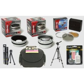 Fuji FinePix S7000 S602 S20 6900 HD� Digital Professional Accessory Kit