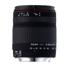 Sigma 28-300mm f/3.5-6.3 DG IF Macro Aspherical Lens for Sigma SLR Cameras