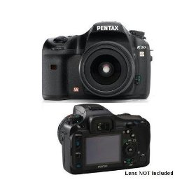Pentax K20D 14.6MP Digital SLR Camera with Shake Reduction (Body Only)
