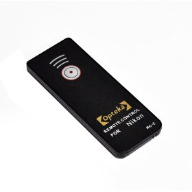Opteka RC-2 Wireless Remote Control for Nikon D40, D40x, D50, D60, D70, D70s, D80, D90, D3000, D5000 & D7000 Digital SLR Camera (Nikon ML-L3 Replacement)