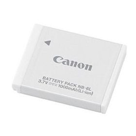 Canon NB-6L Li-Ion Battery Pack for Canon SD770IS, SD1200IS, & D10 Digital Cameras [Retail Packaging]
