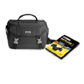 Nikon D7000-D5000-D3100-D3000 DSLR Starter Kit with Nikon School Fast, Fun, & Easy V 2-DVD set and DSLR Case
