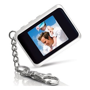 Coby 1.5-Inch Digital TFT LCD Photo Keychain DP151WHT (White)