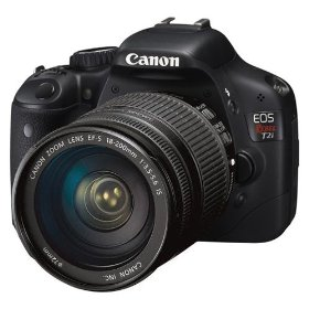 Canon EOS Rebel T2i 18 MP CMOS APS-C Digital SLR Camera with 3.0-Inch LCD and EF-S 18-200mm f/3.5-5.6 IS Standard Zoom Lens