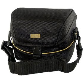 Nikon Digital Camera Carrying Case with Strap for Coolpix L100, L110, P80 & Others