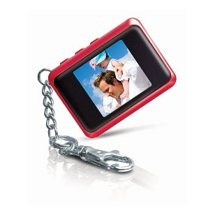 Coby 1.5-Inch Digital TFT LCD Photo Keychain DP151RED (Red)