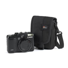 Lowepro G-Res 10 Camera Pouch for Canon G10 and Canon G11 (Black)