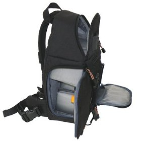New Photo Video D SLR Digital Quick Access Pad Sling Shoulder Camera Backpack Bag Water-resistant
