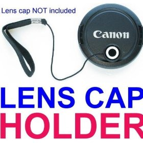 Lens Cap Keeper / Holder for ANY SLR or DSLR CAMERA! Nikon D40 D50 D60 D80 D200 D300 FUJI S1000 S1500 S2000 S700 S800 CANON XS XSi T1i SONY PENTAX