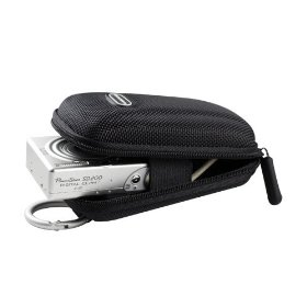 Panasonic Lumix DMC-FH20 Carrying CaseCrown Compact Travel Case (Black)