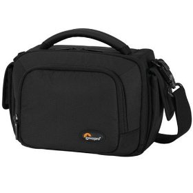 Lowepro Clips 120 Photo Shoulder Bag for Digital Camcorder (Black)