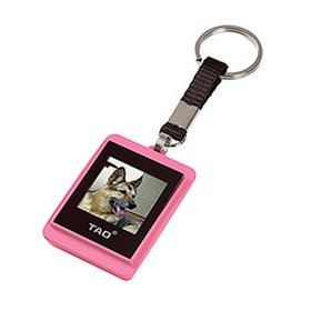 Tao 2009 80014-pin Digital Photo Key Chain (Pink)