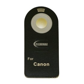 Wireless Remote Control for Canon EOS Digital Rebel XT, XTi, XSi, T1i, T2i, 7D & 5D Mark II Digital SLR Cameras (Canon RC-1 Or RC-5 Replacement)