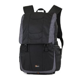 Lowepro Versapack 200 AW Camera Backpack (Black/Gray)