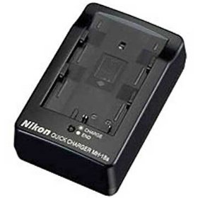 Nikon MH-18a Quick Battery Charger for the EN-EL3e Battery compatible with Nikon D80, D200, D300 and D700 Digital SLR Cameras