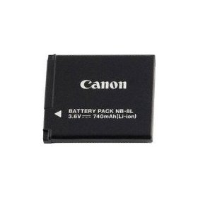 Canon NB-8L Li-Ion Battery Pack for Canon A3100IS and A3000IS Digital Cameras