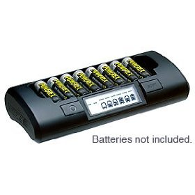 Maha PowerEx MH-C801D Eight Cell 1-Hr Charger - Battery charger - 1-2 hr - 8xAA/AAA