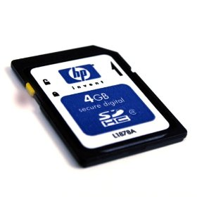 HP 4 GB Class 4 SDHC Flash Memory Card L1878A#707-EF