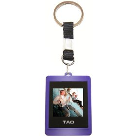 Tao 2009 80012-pur Digital Photo Key Chain (Purple)
