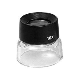 Loupe 10x Close-up Viewing Loupe for Photographic Contact Sheets & Negatives