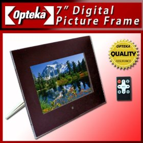 Opteka 7-Inch MultiMedia Digital Picture Frame