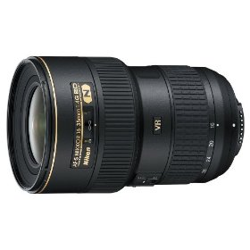 Nikon 16-35mm f/4G ED VR II AF-S IF SWM Nikkor Wide Angle Zoom Lens for Nikon Digital SLR Cameras