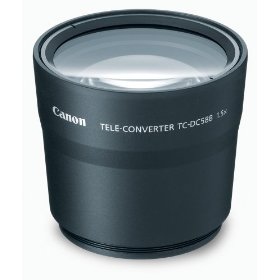 Canon TC-DC58B Tele Converter Lens for S5 IS, S3 IS & S2 IS Digital Camera