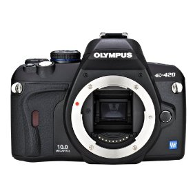 Olympus Evolt E420 10MP Digital SLR Camera (Body Only)